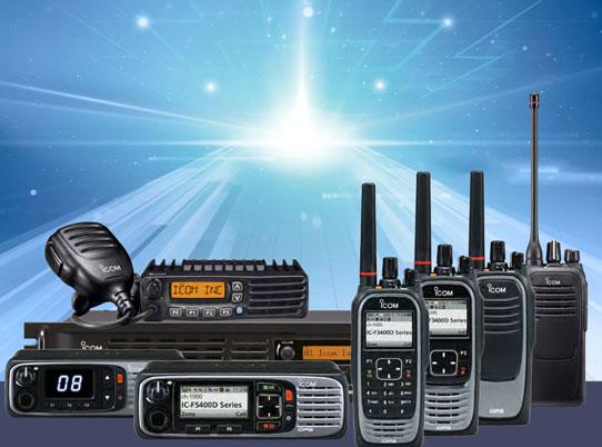 foto av fere radioer