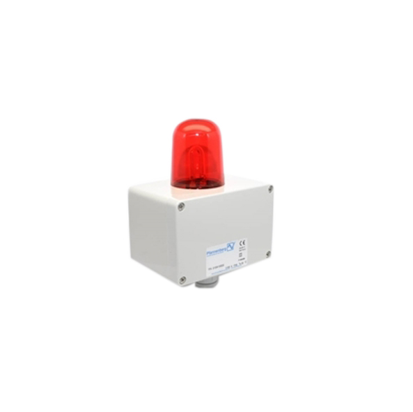 Xenon strobe light 24VDC red-116-44038-Omicron