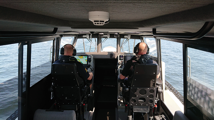 Politibåten «Fred»