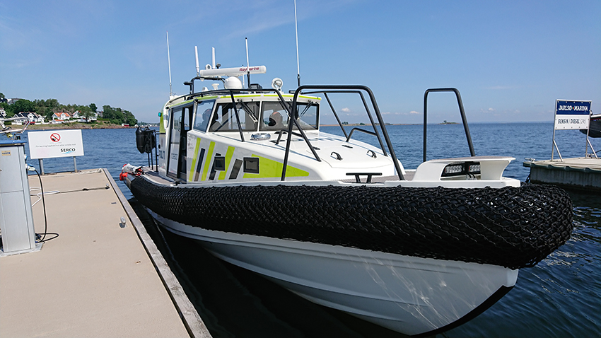 "The policeboat ""Fred"""