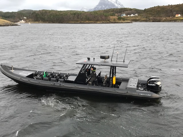Norways biggest Tornado RIB