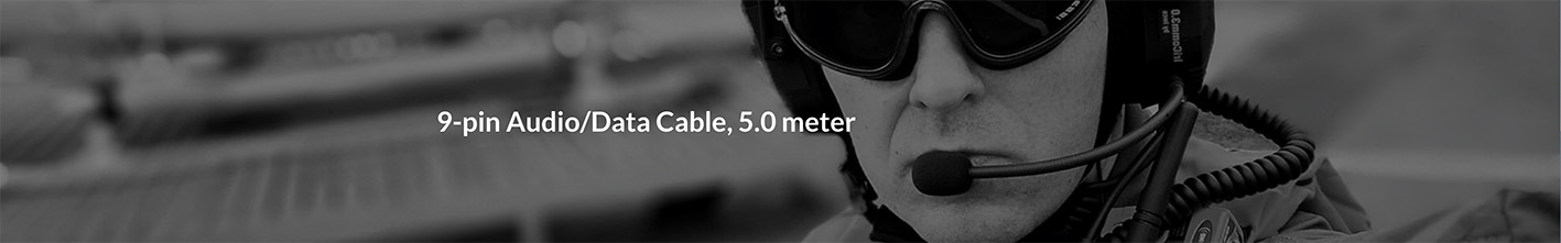9-pin Audio_Data Cable, 5.0 meter