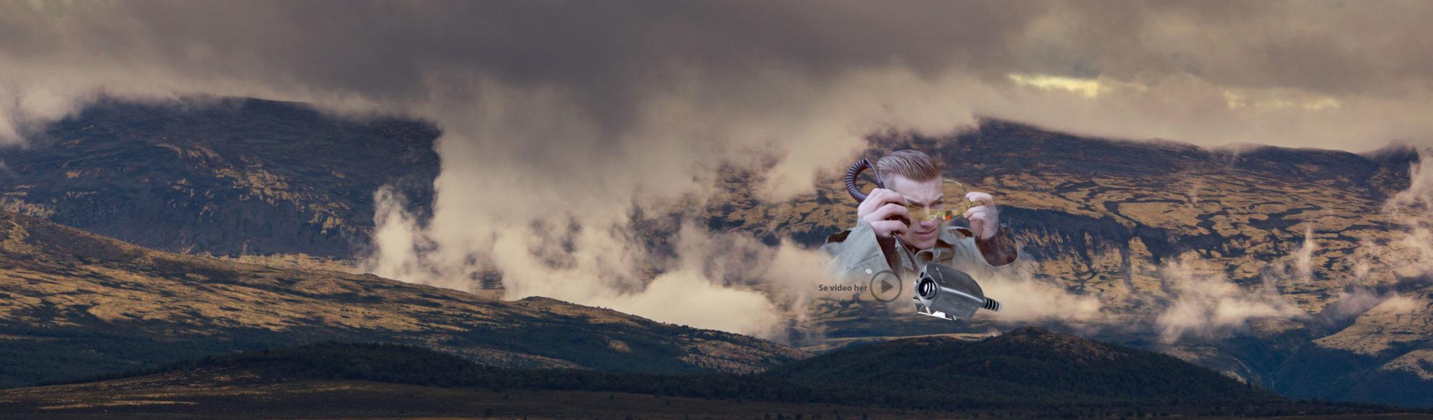 foto av norsk landskap og fjell